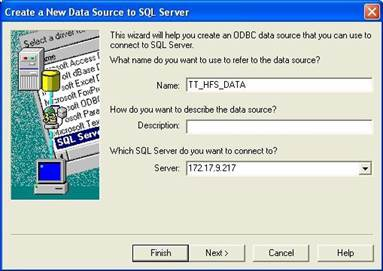 Create and Configure DSN Connections   Trading Technologies