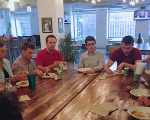 Intern Lunch and Learn with Rick Lane