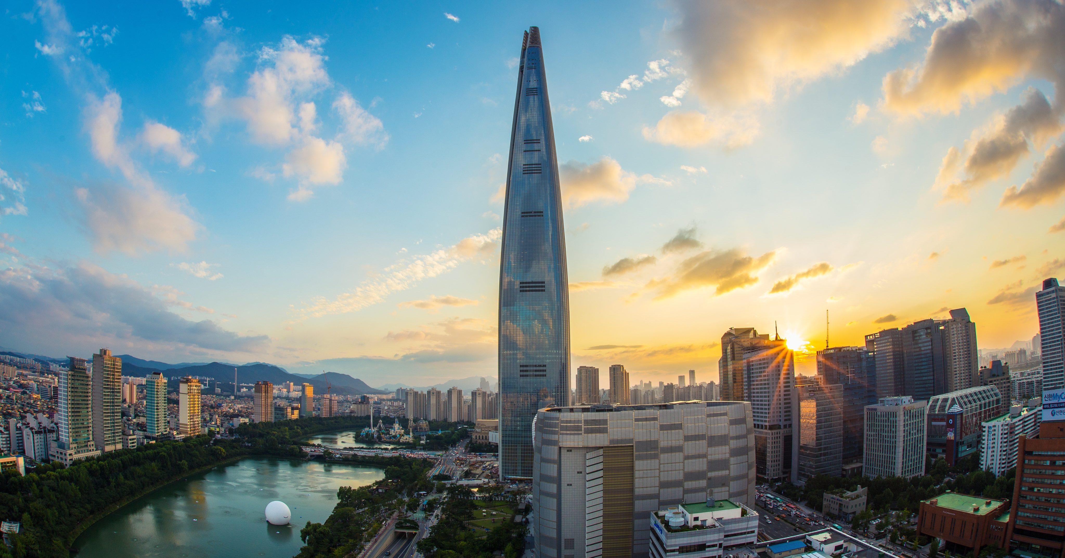 south koreas hi tech city - HD1920×1280